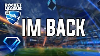 IM BACK FROM VACATION!!! | Rocket League PC | ROAD TO 200 SUBS!!!