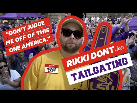 WHY LSU TAILGATING IS A MUST | RIKKI DONT's Guide To LSU Tailgating | Baton Rouge | OYO