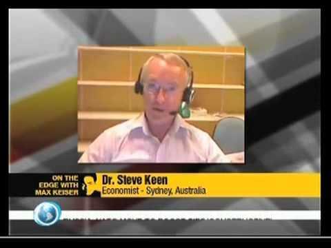 """Steve keen -""""Write off the debt, bankrupt the banks,"""