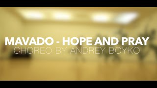 Mavado - Hope and Pray| Dancehall choreography by Andrey Boyko| Danced by Uferson_She
