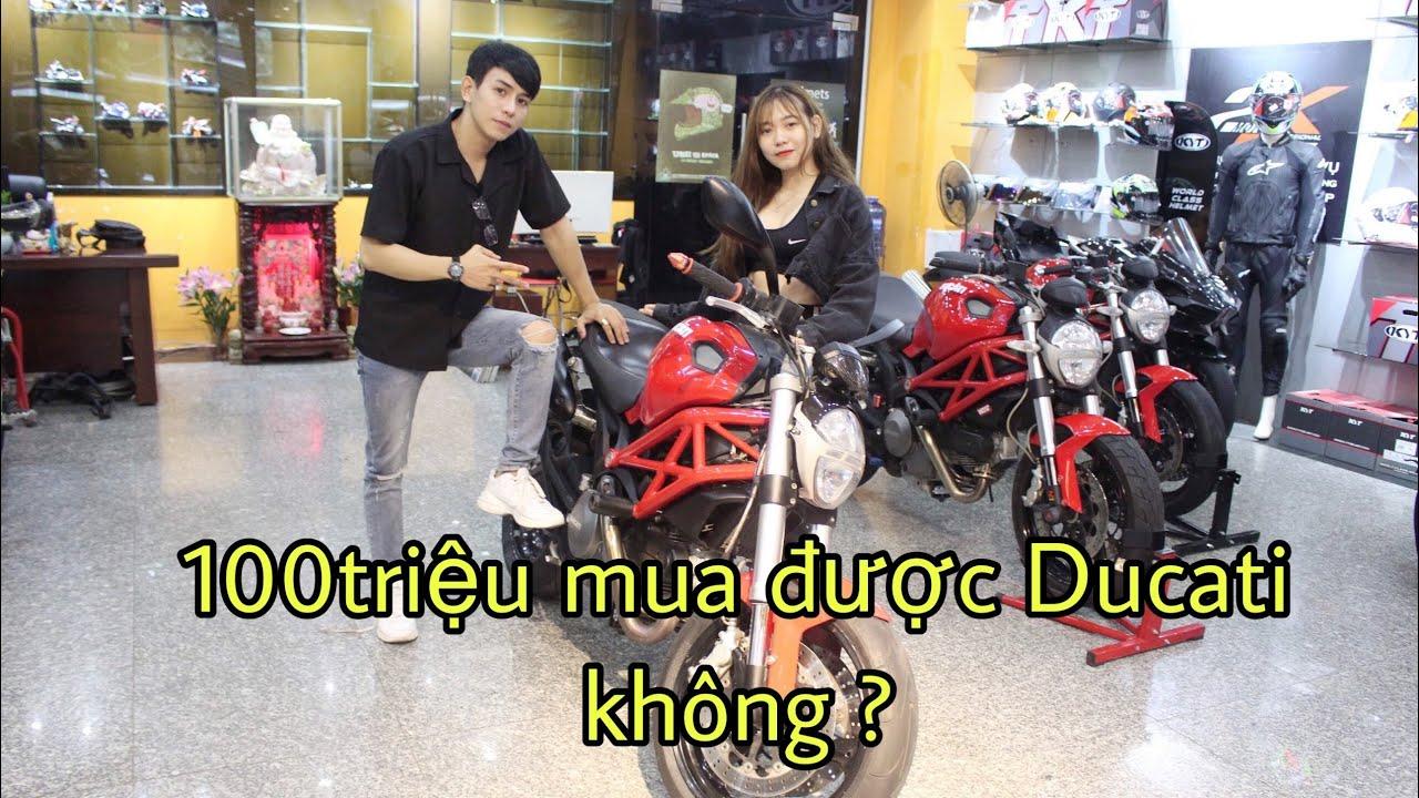 Tiền ít 100 triệu có thể mua moto DUCATI - Biker Gia Hân mua DUCATI   MinhBiker