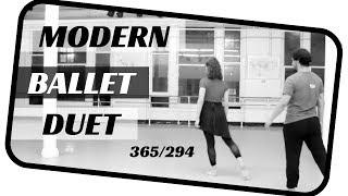 Modern ballet duet- dancing 365 ballets- ballet 294