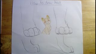 Cat and Wolf paw tutorial