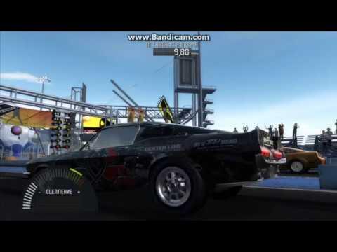 Need for Speed: ProStreet Инфинеон драг 1/4 на Shelby GT500 '67