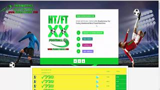 FаXED MATCHES HTFT TаPS 100 SURE  Football Betting Tips Sure Bet Prediction Fixed Matches Today