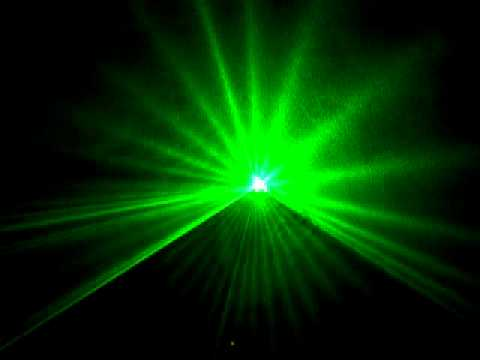 Laser 80mw xanh đánh tia - quét lưới cho vũ trường, bar - Đèn sân khấu