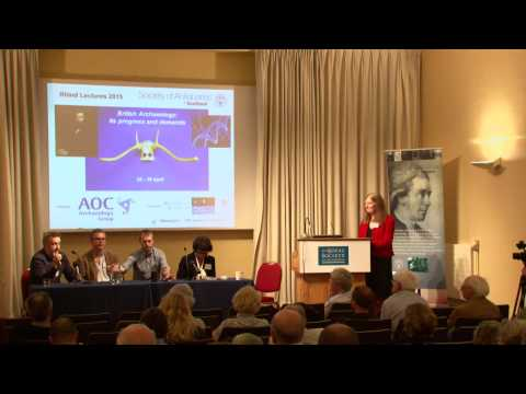 Rhind Lectures 2015 Archaeology and Genetics Panel Discussion