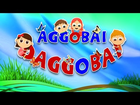 Aggobai Dhaggobai Video - Marathi Balgeet Video Song | Marathi Balgeet for Kids