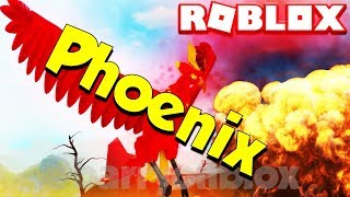 Roblox Play As A Phoenix - Volcano Feather Family (Wild Birds Roleplay Showcase)