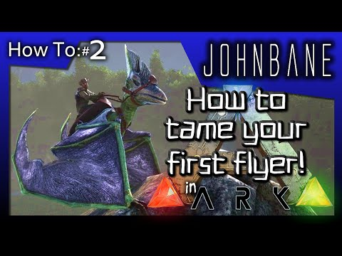 ARK: Survival Evolved - How To #2 - How to tame your first flyer!