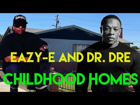Eazy E & Dr. Dre Childhood Homes Compton | Eazy E House | Straight Outta Compton Filming Location