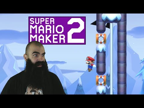 Mario Maker 2: No Skip Endless Super Expert Challenge #6 - The Levels Are Getting Harder..