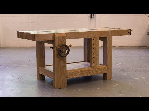 Making 'Bertha' | The Roubo Workbench