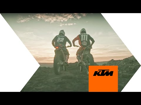Taddy Blazusiak & Jonny Walker Ride It Out in a Coal Mine | KTM
