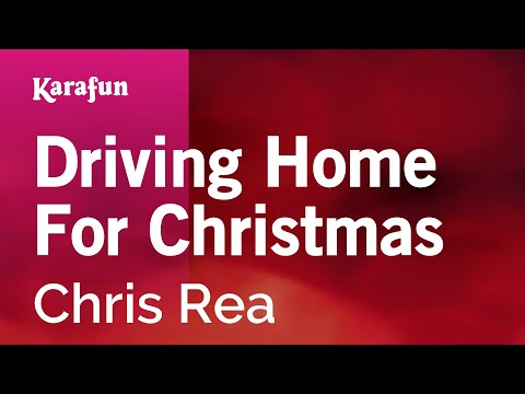 Karaoke Driving Home For Christmas - Chris Rea *