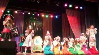 Новогоднее представление для детей Зимняя сказка 26.12.2015