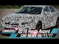 2018 Honda Accord to have detuned Civic Type R engine in the US - Car News 06/11/17 | Automobile 5s
