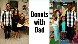 FIRST VLOG EVER!!! Donuts with Dad