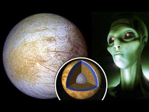 Proof of aliens Jupiter moon's reveals 'evidence' it can support Life