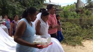Música en una boda en Corralero, Oaxaca