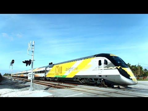 Bright Line Trains Inaugural Days First Runs