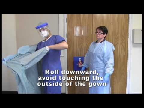 Ebola Order Of PPE - Putting On And Removal