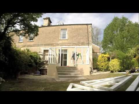 Building a Conservatory by Bath Bespoke