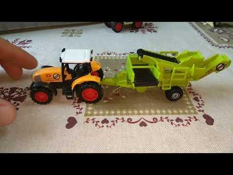 Игрушки модели трактора сельскохозяйственная техника для детей малышей