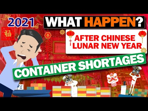 What happened the Container Shortage problem after Chinese Lunar New Year!?