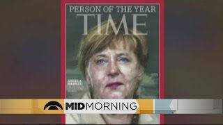 Angela Merkel Is Time Magazine's Person Of The Year