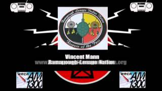 WRCR Rewind - Vincent Mann, Ramapough Lenape Nation