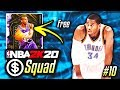 NO MONEY SPENT SQUAD!! #10 | THIS FREE AMETHYST IS INCREDIBLE IN NBA 2K20 MyTEAM!!