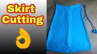 Skirt  Cutting , 4 pieces Skirt cutting, How to Cutting Skirt