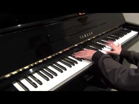 Coldplay - Charlie Brown (piano cover) improved version
