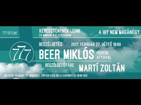 777OFFLINE - Beer Miklós: Kereszténynek lenni és maradni a 21. században