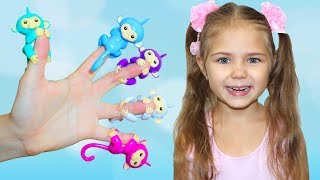 Learn colors with Julia funny girl Finger Family Song Nursery Rhymes