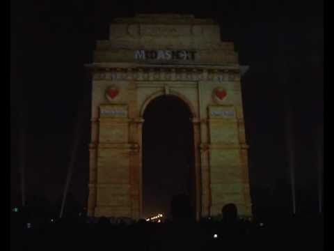 3D Mapping at India Gate - Official Video