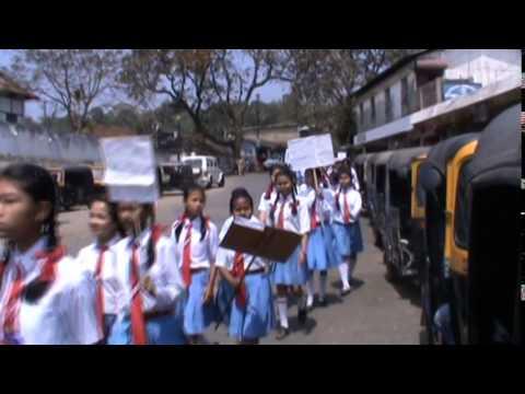 haflong students rallyvote awareness