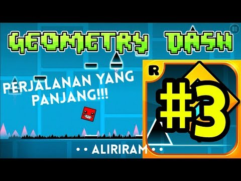 Apakah Level Ini Sulit? Review Game Geometry Dash#3 - Gameplay Android Indonesia