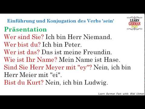 learn-german-with-bilal:--einführung-und-konjugation-des-verbs-'sein'