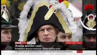 Russian professor Oleg Sokolov (63) admits murder (Russia) - BBC News - 10th November 2019