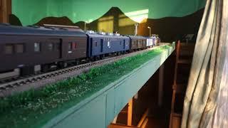 【16番(HO)】EF58-61牽引・荷物列車(昭和55年頃)