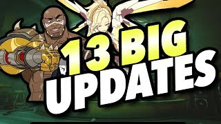 13 Big CHANGES Coming - Mercy Update, Replays, Reporting, & MORE
