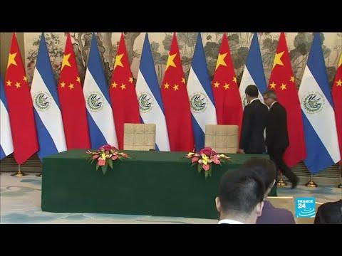 El Salvador breaks diplomatic ties with Taiwan for China