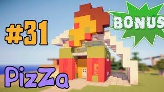 видео: Minecraft - как построить Пиццерию ? (Bonus #31)
