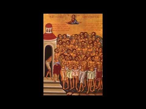 La storia dei 40 martiri di Sebaste!