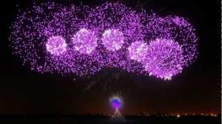 Fireworks Show - FWsim Simulator - Crystallize, Lindsey Stirling thumbnail