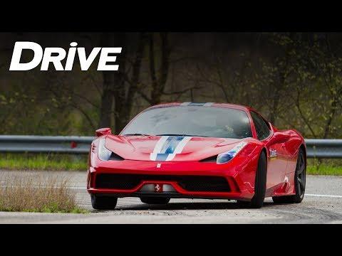 Ferrari 458 Speciale by DRIVE Magazine (English subtitles)