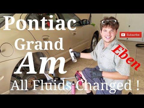 Pontiac Grand Am All Fluids Changed