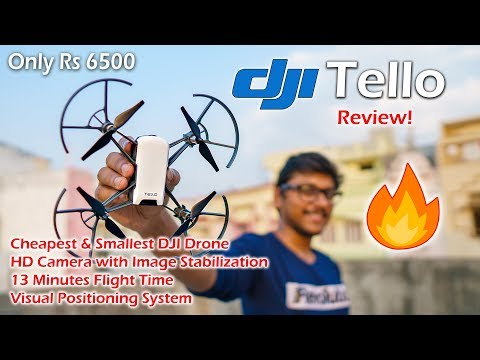 DJI Tello Review | Cheapest DJI Drone with HD Camera !!
